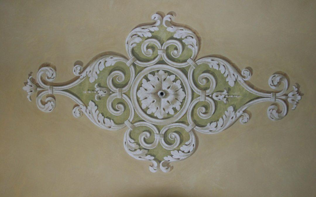 Motivo decorativo soffitto